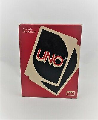 Vintage 1988 Original Uno Card Game by IGI Complete Cards and Directions sealed