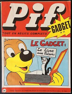 Pif Gadget No. 97 (Vaillant No. 1335) December 1970 Very Good Condition without
