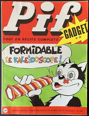 Pif Gadget No. 98 (Vaillant No. 1336) Janvier 1971 Very Good Condition without