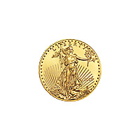 Lot of 5 x 1/10 oz 2019 American Eagle Gold Coin