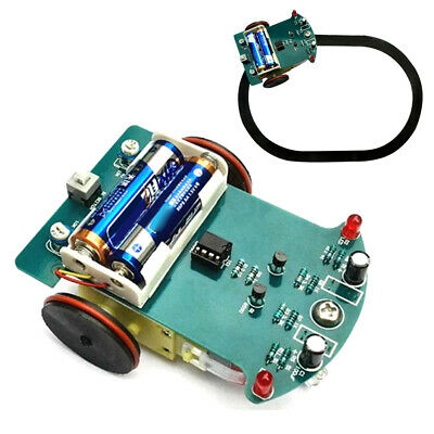 Motor Soldering Project Smart Toy Car School Kit Electronics DIY Kids Tracking