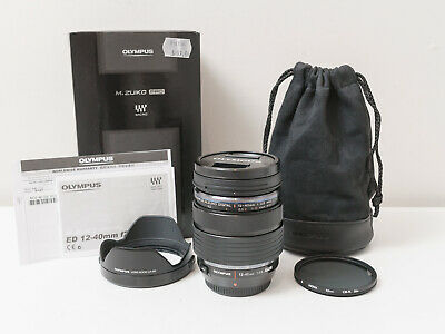 Olympus 12-40mm F2.8 PRO Digital ED Lens w HOYA CPL ~As New ~$630 with code