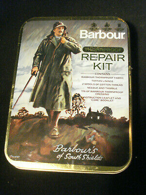 England  Barbour Thornproof Repair Kit Complete