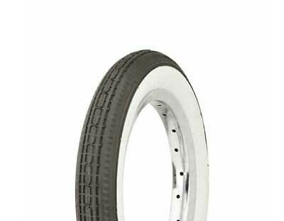 """Duro White Wall 12 1/2"""" X 2 1/4"""" Kids Bicycle Tire Jogging Stroller Tire"""