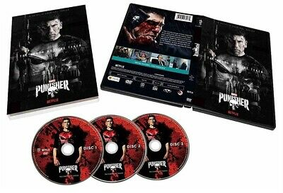 The Punisher Season 1 The Complete First Season 3 Disc DVD Set in Slip Cover NEW