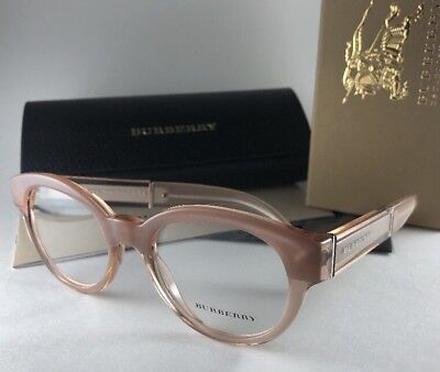 964615c54102 New BURBERRY Eyeglasses B 2209 3560 Opal Nude Pink Stylish Frame 51-20 140