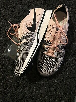 1adde1acfae17 New Nike Flyknit Trainer Sunset Tint Black White Pink Men s AH8396 600 Shoes