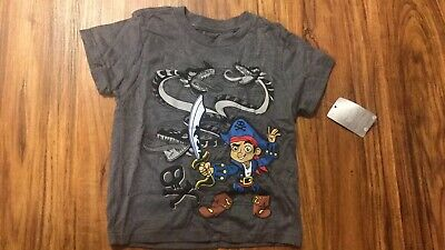 Genuine Authentic JAKE and the NEVERLAND PIRATES Swimsuit Rashie Rash Suit Swim