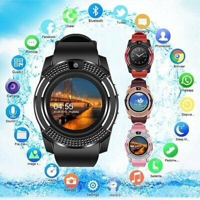 Wireless Touch Smart Wrist Watch GSM Phone For Android Samsung iPhone Man Women