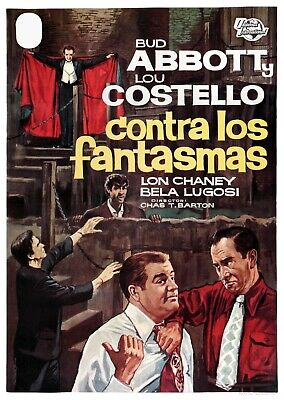 Japanese Giclée Print Movie Poster 1948 Abbott /& Costello Meet Frankenstein