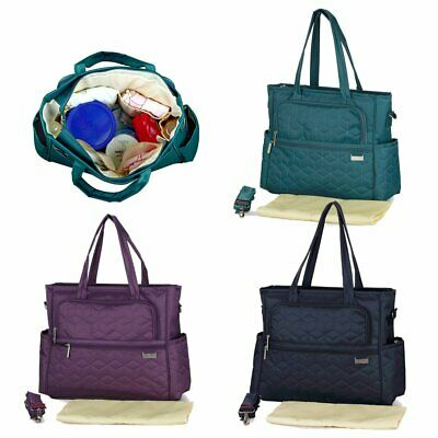 Baby Diaper Nappy Mummy Changing Bag Multi-Function Hospital Tote Shoulder Bags