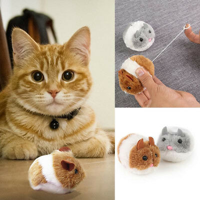 Pet Toy Cat Interactive Toy Pull Ring Vibration Automatic Forward Mouse SW