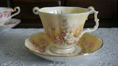 VINTAGE Royal Albert Shakespeare's Flowers Meadows with Delight Cup & Saucer