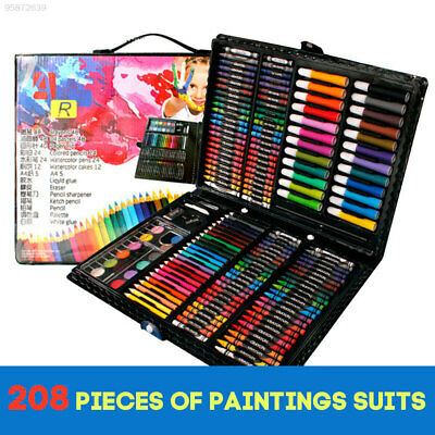 C79B Creative Watercolor Pens Drawing Tool Kids 208 Pcs/Set