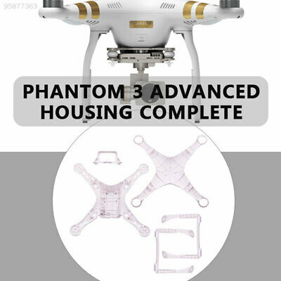 3D87 Stiff Drone Body Shell Drone Shell Protection 4 in 1 Bottom Cover Outdoor