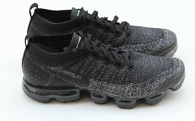 Nike Air Vapormax Flyknit 2.0 Black Dark Grey Anthracite 942842-012 SZ 11.5
