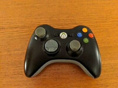 Official Microsoft Xbox 360 Wireless Controller Remote Black *TESTED*