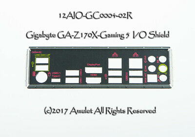 NEW I//O IO SHIELD BACKPLATE for Gigabyte  B360M DS3H  #G5332 XH Y
