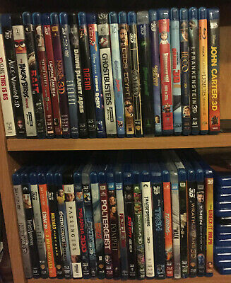 3D BLU-RAY DISCS ONLY. *you choose one*