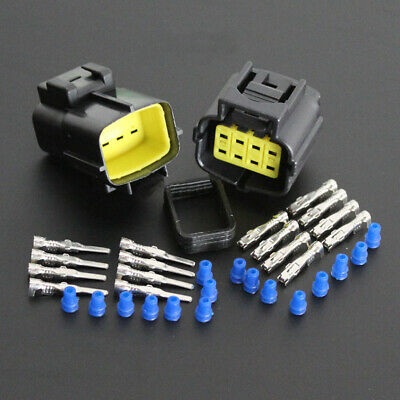 1 Set Waterproof Car 8 Pin Way Electrical Wire Cable Connector Plug Universal