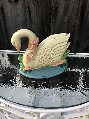 Vintage  Brass Eagle Bookends Bird Door Stopper. French