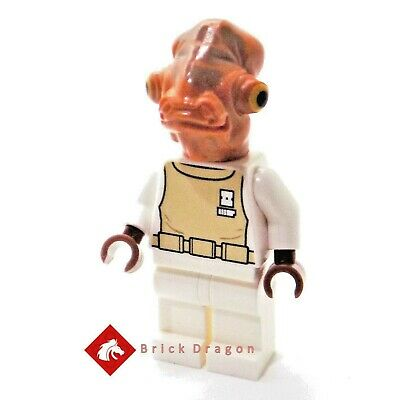 NEW GENUINE LEGO Admiral Ackbar minifig minifigure from