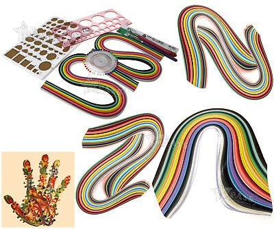Quilling Complete Arts & Crafts Boxed Kit Colours of Paper, Tools & Templates