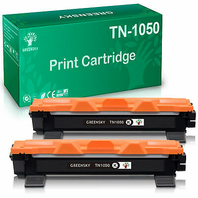 2 BK TN-1050 Toner für Brother DCP-1512 A DCP-1612 W DCP-1616 NW MFC-1911 NW