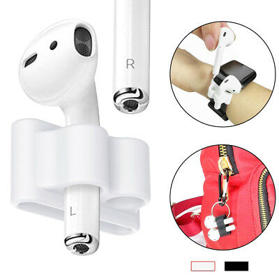 Anti-lost strap silicone case cover skin holder for airpods&accessories—QY QH