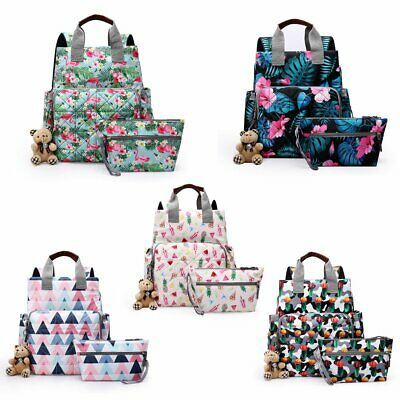 Mummy Maternity Nappy Diaper Baby Backpack Multi-functional Travel Shoulder Bag