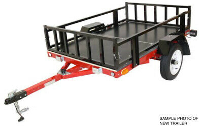 Trailer Foldable / folding easy 6x4 USED suit Motorcycle, camping, flatbed,box