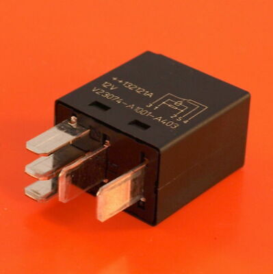 Automotive Car Bike Van Micro Relay 12V 25 Amp 5 Pin Changeover By Tyco Genuine