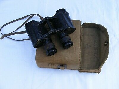 vintage WWII 1942 military binoculars TAYLOR & HOBSON-need some cleaning
