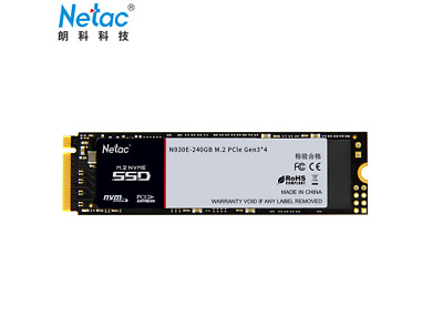 Netac 480GB 240GB 120GB SSD Nvme PCIe Gen3 M.2 2280 N930E Solid State Drive NEW