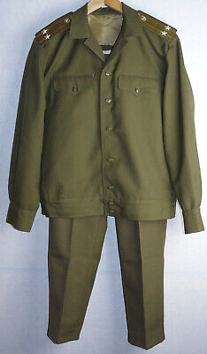 Soviet Uniform Daily Field Jacket Tunic Pants Trousers Army Russian Officer USSR