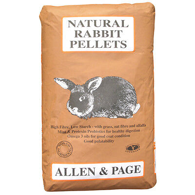 Allen & Page Natural Rabbit Pellets 20kg