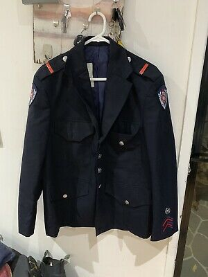 New South Wales Fire Brigade 100% Wool Jacket. Commisioner Jacket