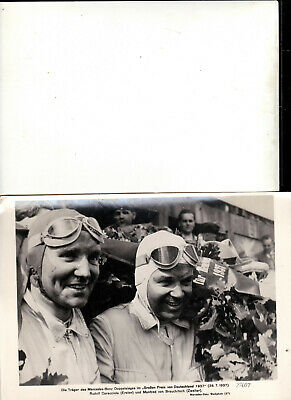 Mercedes-Benz prewar original press photoprints Grand-Prix 1937/38