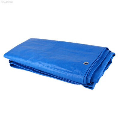 74D8 Car Vehicles Tarpaulin Luggage Cover Canvas PVC Waterproof Tarp Outdoor