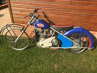 Unique opportunity - classic Ice Speedway Bike Jawa DOHC 2v from mid 70's
