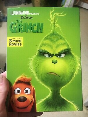 The Grinch DVD 2019 Brand New Unopened