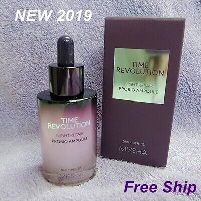 MISSHA Time Revolution Night repair Probio Ampoule 50ml (NEW 2019)4th generation