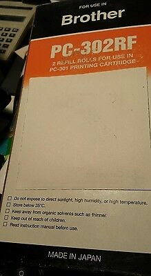 BROTHER FAX REFILL 2 only for FAX  920 Printing Cartridge.New in pack 2 rolls