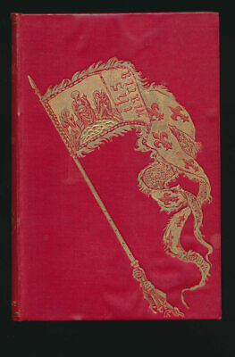 Andrew Lang 1895 First Edition Illustrated  Red True Story Book