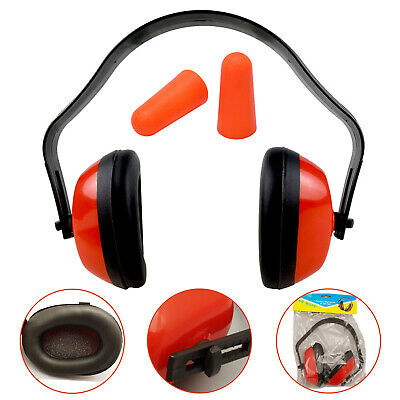 Compact Ear Defenders With Adjustable Head Band | Disposable Ear Plugs / Muff