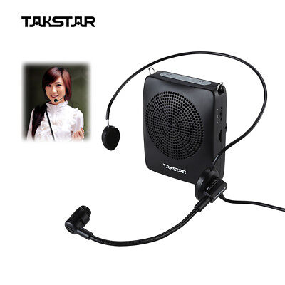 Takstar E128 Megaphone Microphone Voice Amplifier Fast Charge for Coaches P6