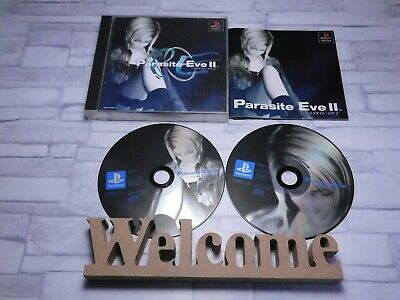 (〃 ̄∇) Parasite EVE Ⅱ Used PlayStation1 PS1 PSX Japan import Japanese Game SQUARE