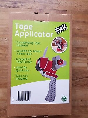 Parcel Tape Dispenser Gun - Packaging Tape Applicator Packing Tool NEW