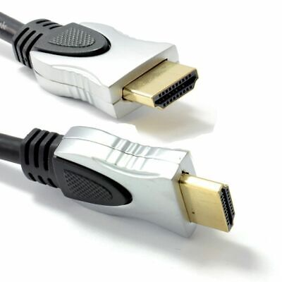 Ultra Premium Quality HDMI Cable v1.4 Gold HDTV High Speed HD 1080p 3D 4K Wire