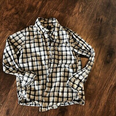 BABY GAP Toddler  Size 5 years  Boys Checked Button Up Shirt  (J)